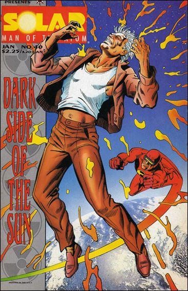 Solar, Man of the Atom (1991) 40-A by Valiant