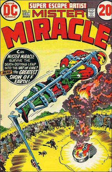 Mister Miracle (1971) 11-A by DC