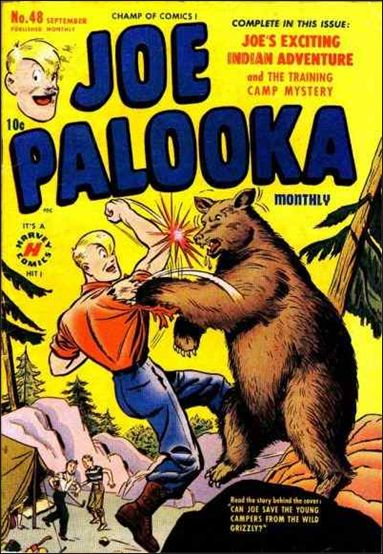 Joe Palooka (1945) 48-A by Harvey