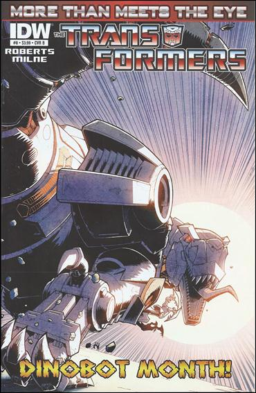 Transformers: More Than Meets the Eye (2012) 8-B by IDW