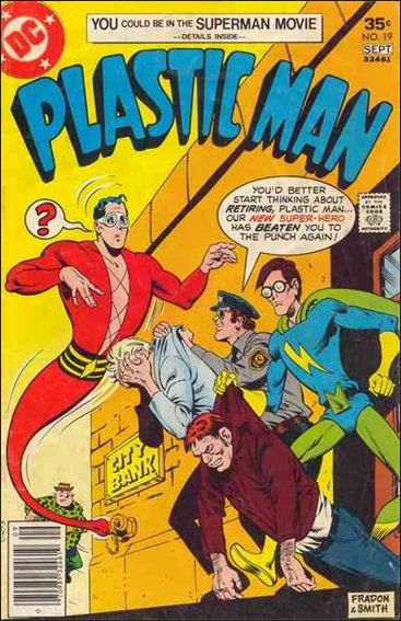 Plastic Man (1966) 19-A by DC