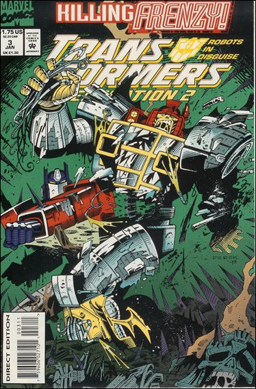 Transformers: Generation 2 (1993) 3-A by Marvel