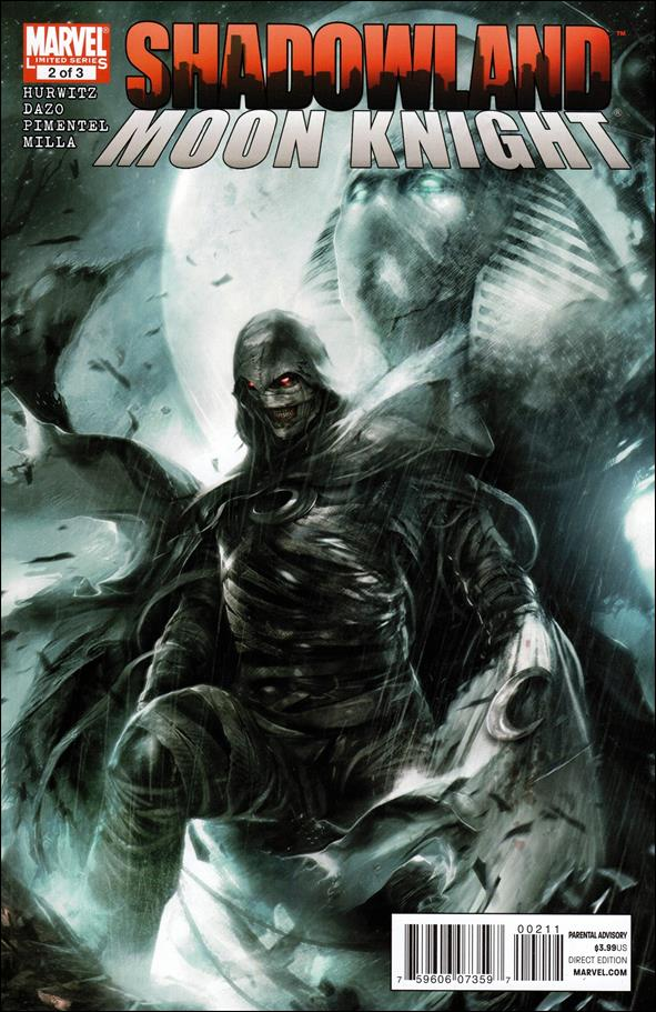 Shadowland: Moon Knight 2-A by Marvel