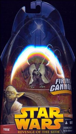 "Star Wars: Revenge of the Sith 3 3/4"" Basic Action Figures Yoda (Firing Cannon!)"