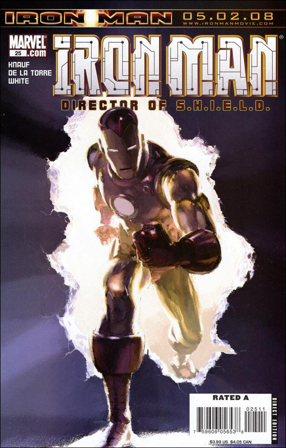 Invincible Iron Man (2005) 25-A by Marvel