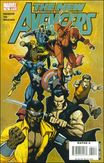 New Avengers (2005) 34-A by Marvel