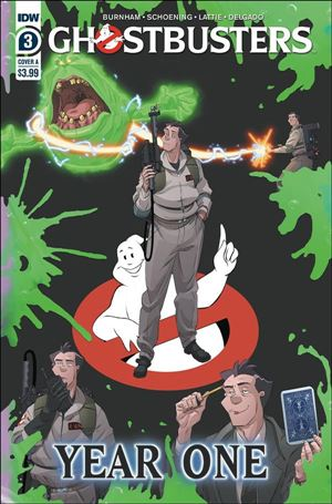 Ghostbusters: Year One 3-A