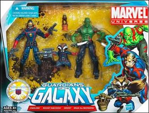 Marvel Universe (3-Packs) Guardians of the Galaxy 3-Pack