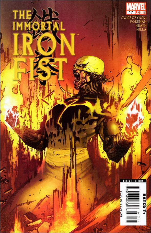 Immortal Iron Fist 17-A by Marvel