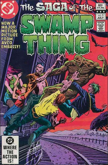 Saga of the Swamp Thing 3-A by DC