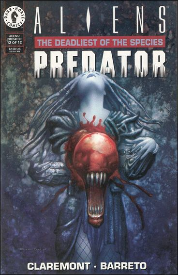 Aliens/Predator: The Deadliest of the Species 12-A by Dark Horse