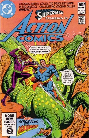 Action Comics (1938) 519-A by DC
