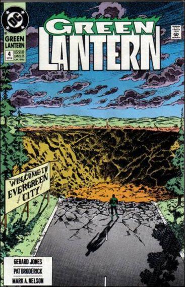 Green Lantern (1990) 4-A by DC