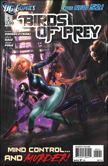 Birds of Prey (2011) 5-A by DC