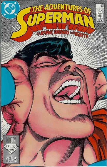 Adventures of Superman (1987) 438-A by DC