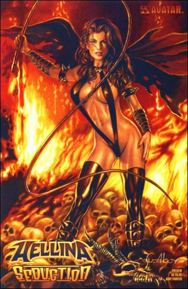 Hellina Seduction Preview-C by Avatar Press