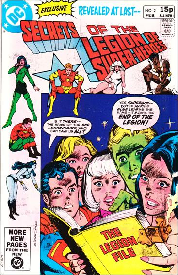 Secrets of the Legion of Super-Heroes 2-B by DC