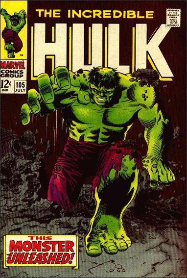 Incredible Hulk (1968) 105-A by Marvel