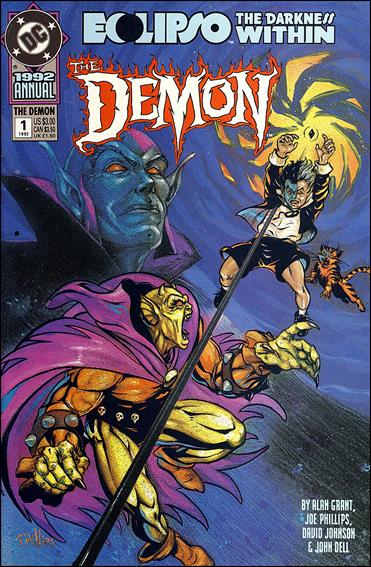 Demon Annual 1-A by DC
