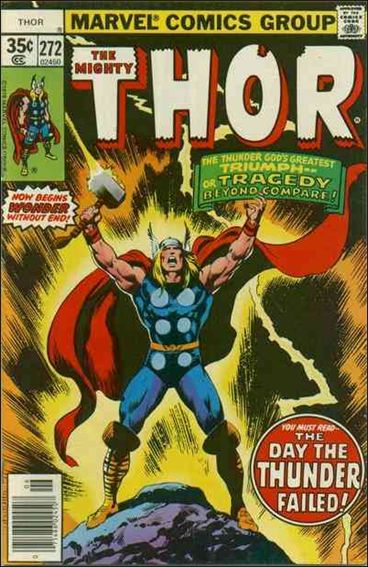Thor (1966) 272-A by Marvel