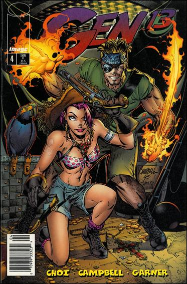 Gen13 (1995) 4-B by WildStorm