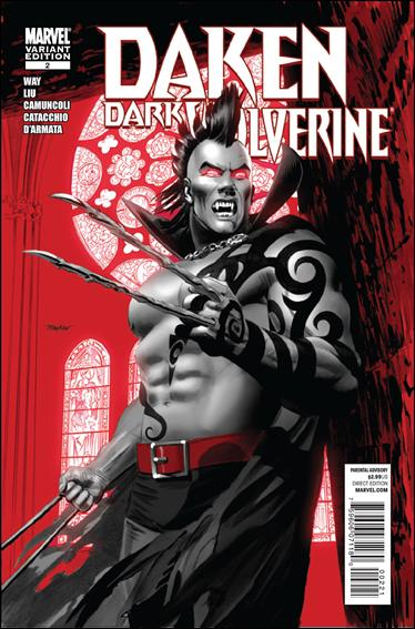 Daken: Dark Wolverine 2-B by Marvel
