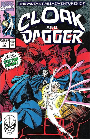 Mutant Misadventures of Cloak and Dagger 12-A by Marvel