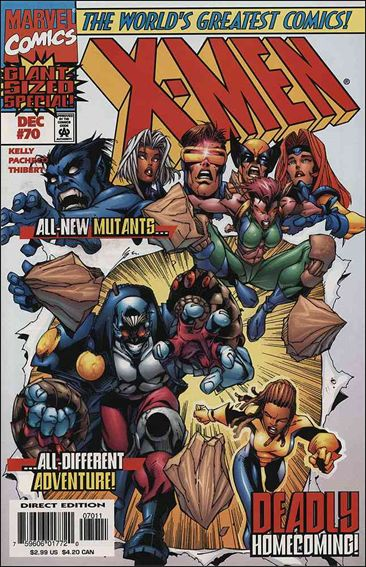 X-Men (1991) 70-A by Marvel