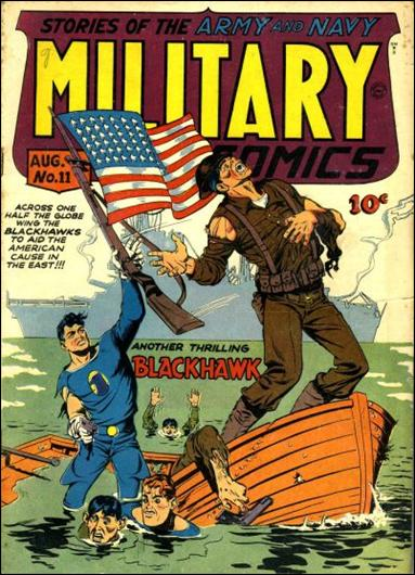 Military Comics 11-A by Comic Magazines