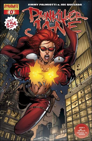Painkiller Jane (2007) 0-A by Dynamite Entertainment