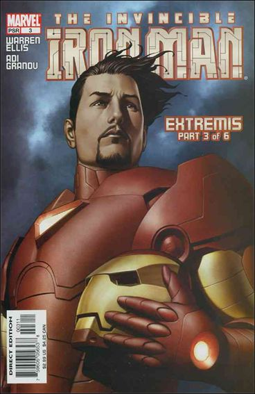 Invincible Iron Man (2005) 3-A by Marvel