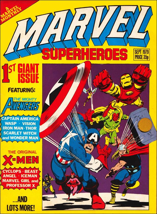 Marvel Superheroes (UK) 353-A by Marvel UK