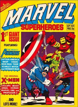 Marvel Superheroes (UK) 353-A