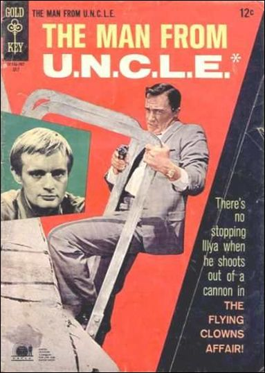 Man from U.N.C.L.E.(1965) 13-A by Gold Key