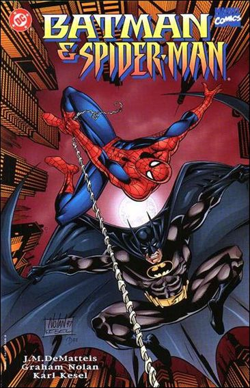 Batman/Spider-Man 1-A by DC