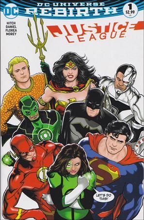 Justice League (2016) 1-G