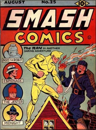 Smash Comics (1939) 25-A by Quality