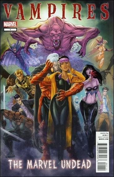 Vires the marvel undead 1 a dec 2011 comic book by marvel
