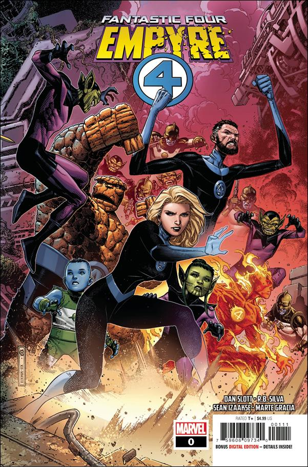 Empyre: Fantastic Four 0-A by Marvel