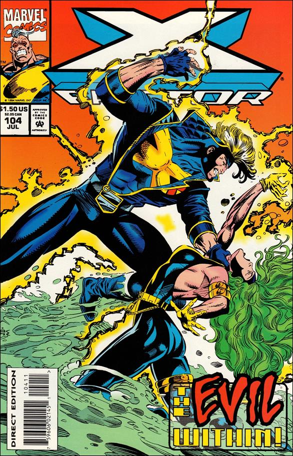 X-Factor (1986) 104-A by Marvel