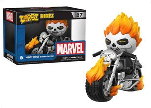 Dorbz Ridez Ghost Rider with Motorcycle