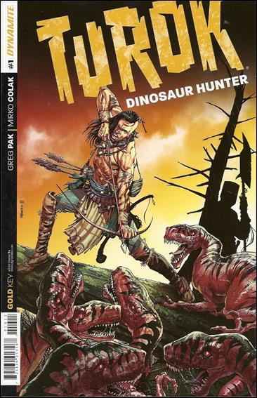 Turok: Dinosaur Hunter (2014) 1-A by Dynamite Entertainment