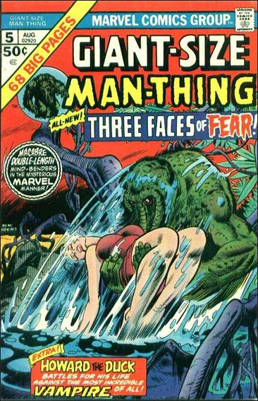 Giant-Size Man-Thing 5-A by Marvel