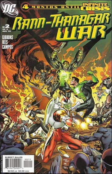 Rann/Thanagar War 2-A by DC