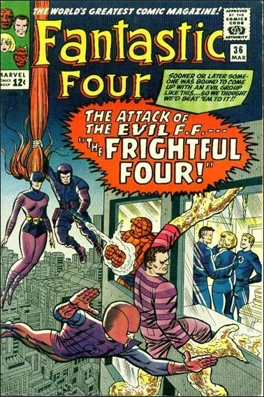 Fantastic Four (1961) 36-A by Marvel