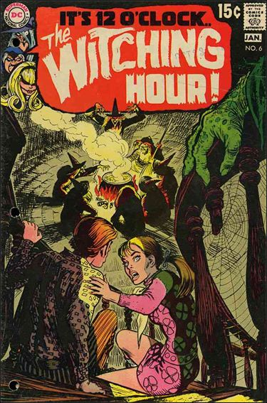 Witching Hour (1969) 6-A by DC