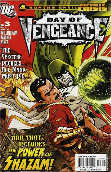 Day of Vengeance 3-A by DC