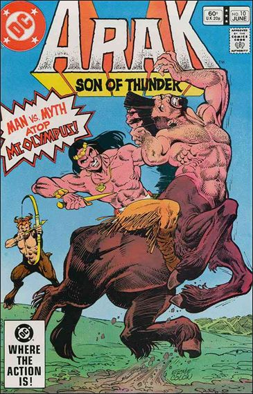 Arak Son of Thunder 10-A by DC