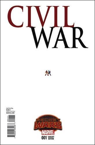 Civil War (2015) 1-C by Marvel