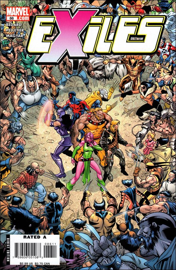 Exiles (2001) 86-A by Marvel